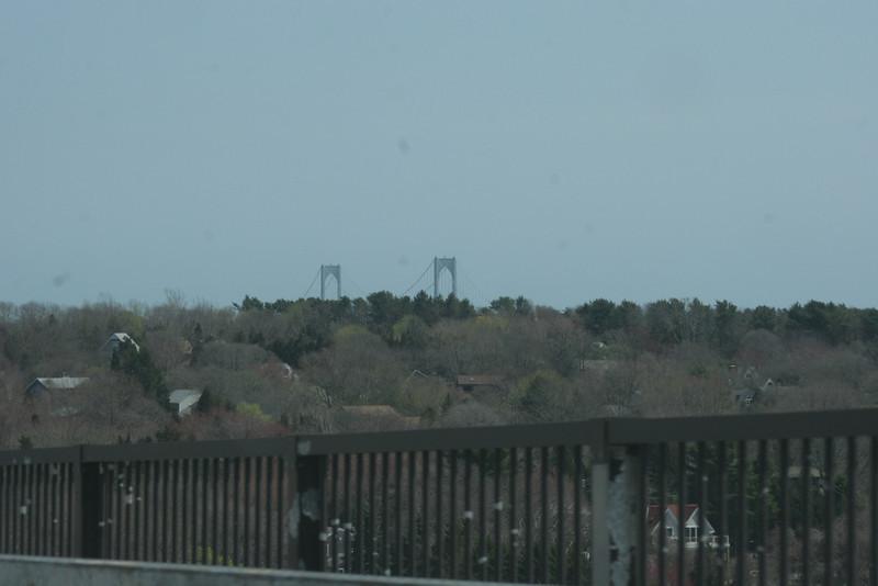 Bridge to Newport in the distance.