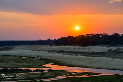 Sunset Letaba River