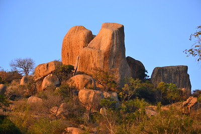 Scenic Rock Structure