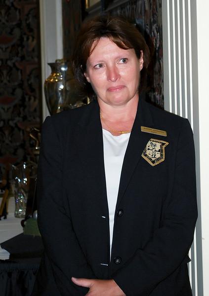 Karen Johnson, MWGA Publicity Director and Historian since 2005.
