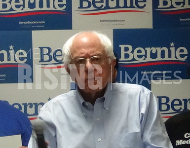 Bernie Sanders attends office opening in Ottumwa, IA