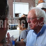 Bernie Sanders At Union Picket In Cedar Rapids, IA