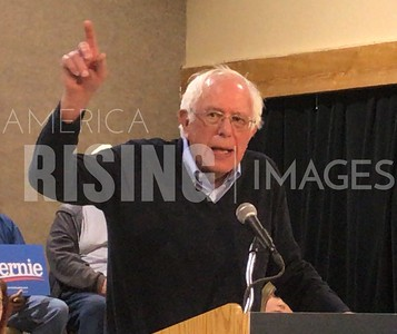 Bernie Sanders attends town hall  in Fort Dodge, IA