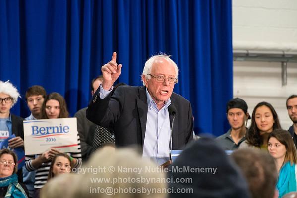 Bernie in Lebanon NH