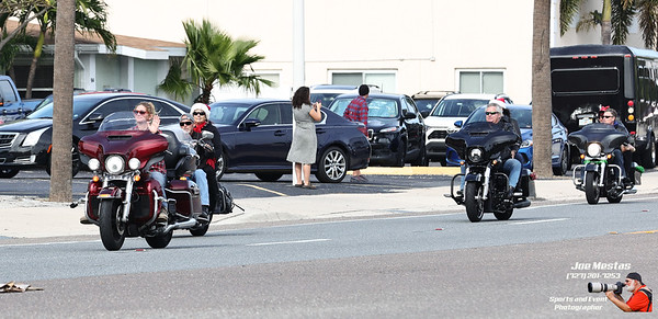 Bert's Barracuda Harley's 4th Annual for Hearts Toy Run to Benefit