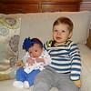 Emmit 19 mos Harper 3 weeks