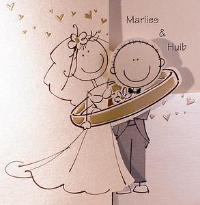 Huib en Marlies