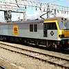 92005 'Mozart' moves away from Crewe with 0Z23 Crewe IEMD - Warrington Arpley with 90034