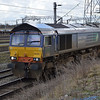 66302 passes Crewe Basford Hall with 4S49 Daventry - Grangemouth