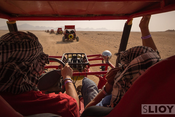 Part of EEO's promise to its' clients is a 'hands-on approach. Here, quite literally, tourists take control of a dune buggy into their own hands. That was perhaps the most uncomfortable shot of the whole trip, but the result really puts viewers inside the experience.