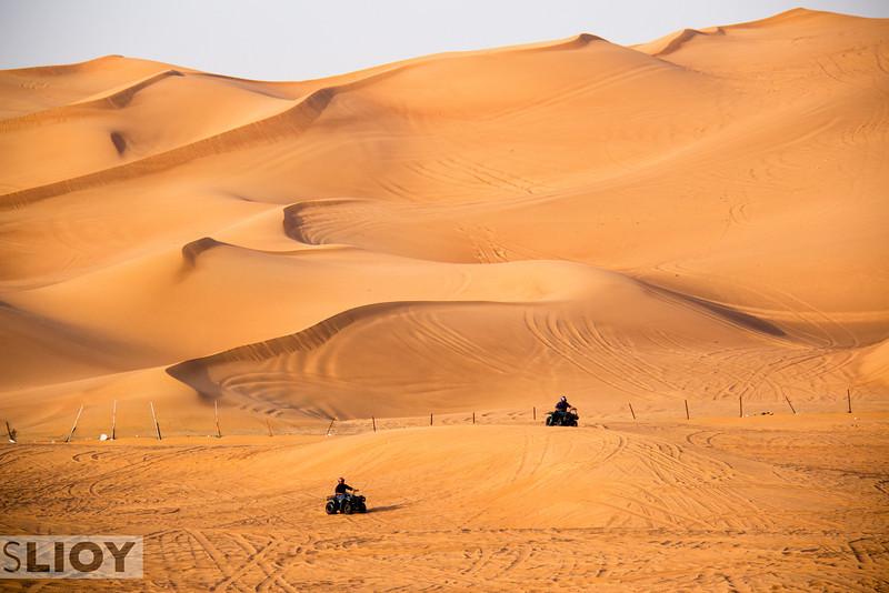 Dune Bashing in Dubai.