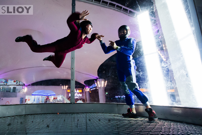 iFly - Indoor Skydive in Dubai.