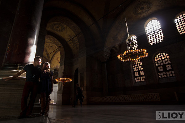 hagia sophia afternoon light