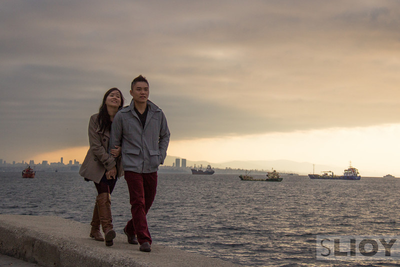 The early mornings are worth it, sometimes. Johnny and Crystal were great fun to spend time with in Istanbul, even when I convinced them to meet me in time to catch the early light over this Bosphorus-view corniche.
