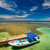 Osprey Nest Cottage Dock, South Water Caye, Belize
