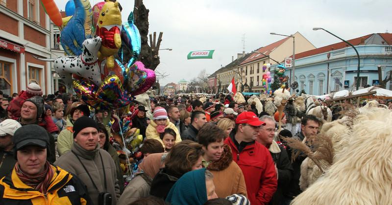 "Farsag (pronounced ""Farshang"")<br />  Hungarian Carnival in Mohács"