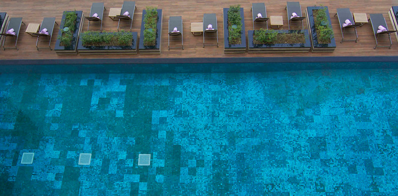 Hotel Kempenski - swimming pool