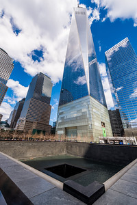 Freedom Tower from the 9/11 Memorial