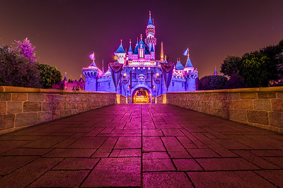 Bridge To Sleeping Beauty Castle