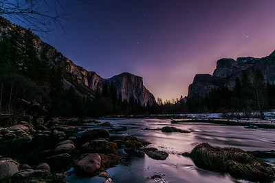 Early Morning Tranquility in Yosemite National Park