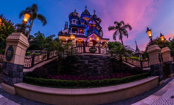 Mystic Manor Sunset