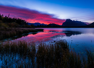 Vermillion Lakes Sunrise