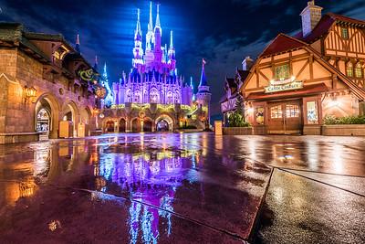 Fantasyland Dream Lights Reflections
