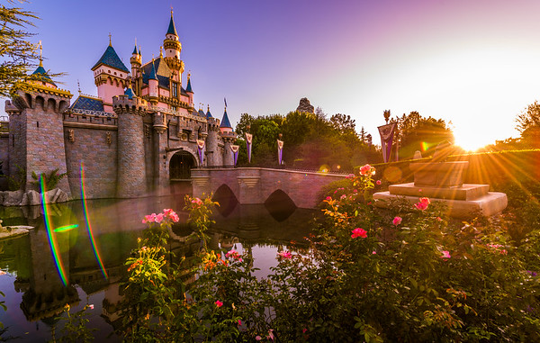 Dawn Over Sleeping Beauty Castle
