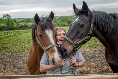 Catherine, Benny & Ombre