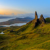 Sunrise – Old Man of Storr