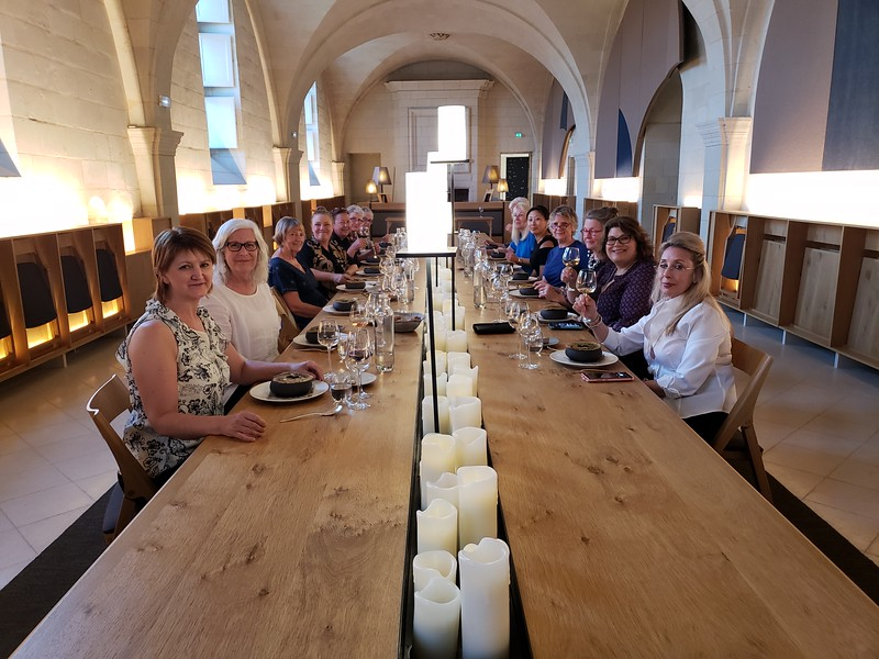 "A Michelin-starred dinner at Fontevraud Abbey...how do you say ""yum"" in French?"