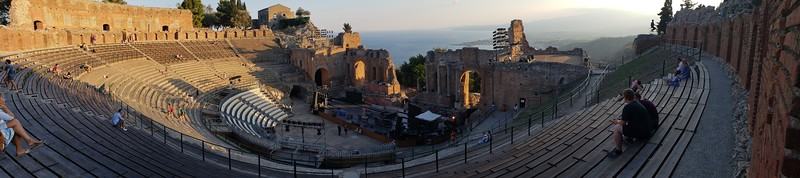 Theatre with a view!