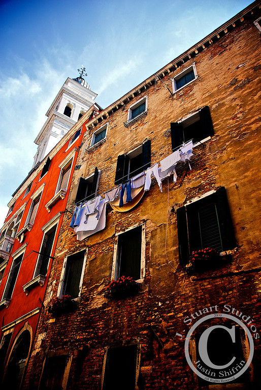 <b><h3>Best Photographs of 2009: Globetrotting</h3></b> Images by Justin Shifrin   Venetian Laundry  It is always better to start off by airing dirty laundry, and this image encapsulates the phrase, albeit in a literal sense.  The scene was exposed in Venice, Italy aboard a waterborne vessel in an ancillary canal.  Consecutive quarters of negative GDP or not, 2009 was an excellent year!  There are 20 photographs below.  Please enjoy and make 2010 your best year!  Take care,  Justin Shifrin of J. Stuart Studios
