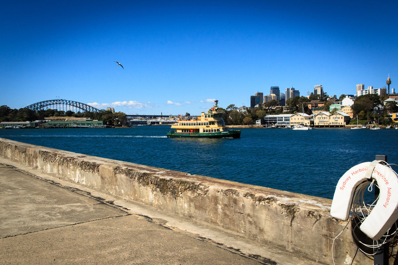 Ballast Point Park, Sydney<br /> Once the place where unladen ships stocked up on ballast before returning to Europe, Ballast Point was most notably the home of the Caltex Grease Plant for many years. The site was opened as a park in 2009.
