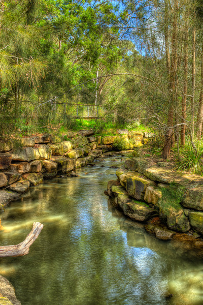 Fish Ladder, Lane Cove National Park, Sydney<br /> Fish Ladder, Lane Cove National Park, Sydney