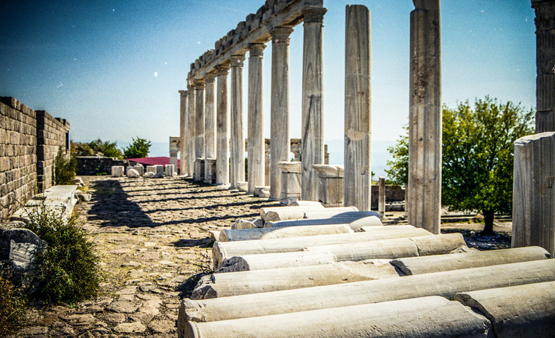Bergama, Turkey<br /> Sanctuary of Asclepius.