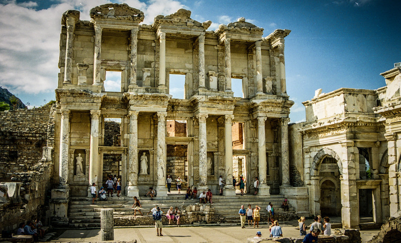 Selçuk, Turkey<br /> Library of Celsus, Ephesus.