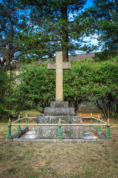 Gladesville, Sydney, Australia<br /> Grave of Frederick Norton Manning,  invited by Henry Parkes in 1867 to become medical superintendent of what was then the Tarban Creek Lunatic Asylum (later Gladesville Mental Hospital).