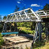 Dungog, NSW, Australia<br /> Cooreei Bridge over the Williams River. Bridge built 1904; named after a ship run by the Williams River Steam Navigation Co (WRSN Co).