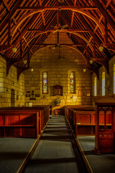 St John's Anglican Church, Wilberforce<br /> Designed by Edmund Thomas Blacket and built by J. Atkinson of Windsor. Construction completed 1859.