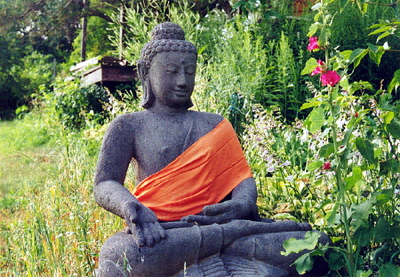 Statue of the Buddha at Mahayana Dharma Center (Spring Green, WI)