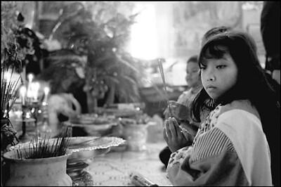 Children at Sandhikaram Wat Khmer (Lynn, MA)