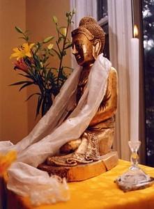 Buddha Statue at Rocky Mountain Buddhist Center (Missoula, MT)