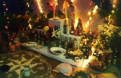 Voudou Ritual Altar (New Orleans, LA)