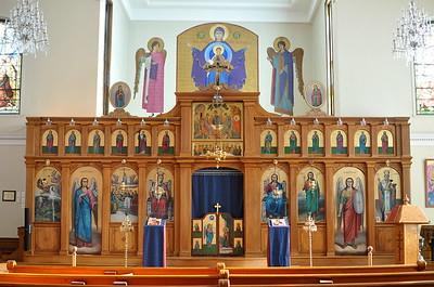 Iconostasis of St. Mary's Antiochian Orthodox Church