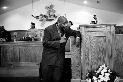 Preaching at Tabernacle of Prayer Church of God in Christ (Hattiesburg, MS)