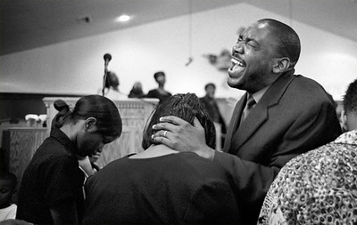 Healing During a Service at Tabernacle of Prayer Church of God in Christ (Hattiesburg, MS)