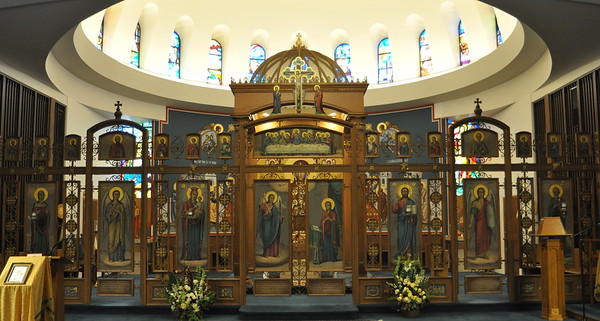 Iconostasis of the Annunciation Melkite-Greek Catholic Cathedral (West Roxbury, MA)