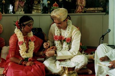 Hindu Wedding Ceremony at Hindu Mandir (Minneapolis, MN)