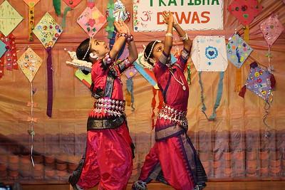 Children Prayer Dance Praising Lord Vishnu